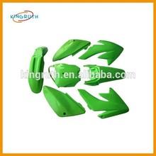 Green CRF70 CRF 70 Plastics Set Fairings Kit Body Protect 125cc 140cc 150cc Dirt Pit Bike Stomp z140 wpb 140