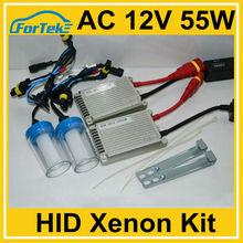 slim hid xenon kit logo AC 12V 55W 6000K H1 H3 H4 H7 H11 9005 (hb3) 9006 (HB4)