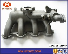 Cast Aluminum Parts, JAC Diesel Engine 130 Intake Manifold Die Cast