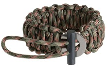 brown paracord wristband