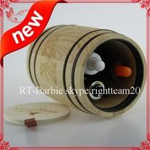 mini coffee barrel wood