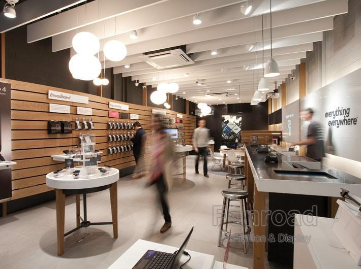 Retail Design Ideas Panel Slat Wall Phone Retail Shop Wall Display Rack View Phone Retail