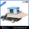 Dirty Mud truck top roof tent with awning