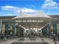 pabellón al aire libre tienda de campaña de la membrana de acero de la estructura de la arq