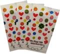embalaje de dibujos animados de paqueteindividual desechable de limpieza facial toallita húmeda