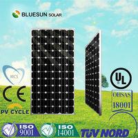 125*125 solar cell monocrystalline solar panel 200w