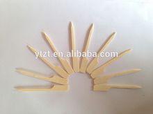 disposable wooden corn dog sticks