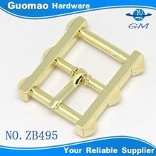 Light gold bag buckle fashion square ring belt buckle