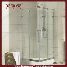 prefab clear steam shower door/shower door enclosures/bathroom accessory sets