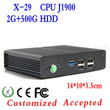 Professional mini computer new listing! XCY X-29 pc thin client J1900 Intel network comoputer