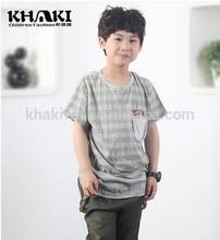 2014 summer children t-shirt boys shirt from khaki company