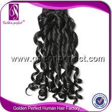 2014 New Design Spiral Curl Human Hair Weft Hair Curler