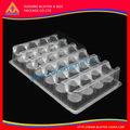 durável e robusto de plástico transparente inserir embalagem blister bandeja