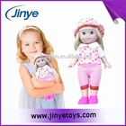 Baby girl fashion doll with long hair