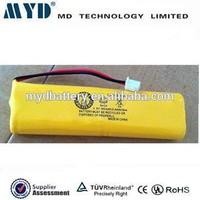 AA 700mAh Ni-Cd rechargeable 1.2V 4.8V 6V 7.2V 9.6V battery pack