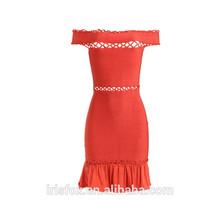 kırmızı bohem tarzı anne gelin elbise