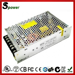 metal case 12v 8.5a led power supply 100w switching power supply in factory price