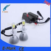 40w h1 Car led headlights , H1 led cob headlight bulbs