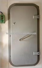 China Marine Ship steel Weather Tight Door,Single Leaf Boat Steel A60 Gastight Weather Tight Door