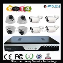 Hot DVR Kit!! 8pcs Megapixel 960P/720P AHD Camera + 1pc 8Chs HD AHD DVR home surveillance camera kit