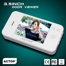Hot sale 3.5 inch Good look Hd picture useful built in video camera door