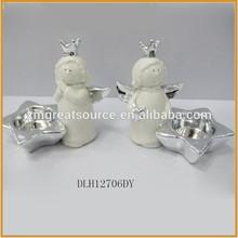 ceramic angel figurines angel statue ornament ceramic angel with star