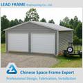 préfabriquées en acier hangar structure métallique pour le garage