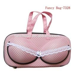 Lovely portable bra organizer bag for girls