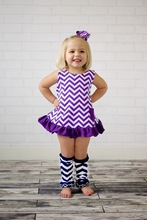 wholesale fashion baby outdoor swing set with ruffle diaper cover /girls outfits