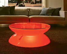 Craft RoHS CE glowing led bar coffee table