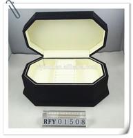 new deisgn black wooden gift packaging box