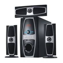Newest hot sale multimedia speaker system with usb sd fm radio