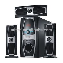 Newest hot sale wireless multimedia speaker system with usb sd fm radio