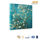 Sample picture of canvas wall art flower painting