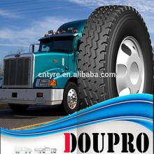 Radial truck tyre 750R16 of Doupro brand