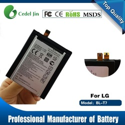 lithium polymer battery for lg BL-T7 G2 D802 D801 L-O1F VS980 battery wholesale cell phone accessory
