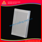accept OEM High quality plastic box for clothes with handle folding cloth boxes