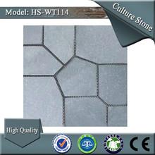 Fábrica hs-wt114 natural grisinterior pisos de piedra laja