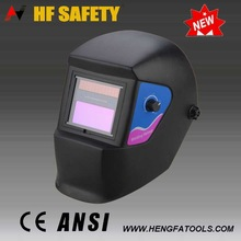 High quality full face welding mask plastic sheet welding machine