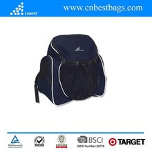 2015 polyester backpack made in China for hiking and suit for ball