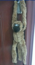 2014 pet product funny plush toy animal plush toy monkey made in China