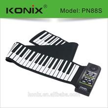Midi 88- Key Roll Up Silicone Piano