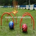Futebol personalizado passando arcs, Plástico pvc formação arco na esportes ou entretenimento