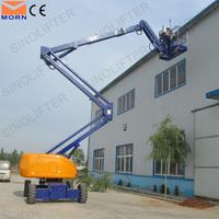 articulated boom man lift crane