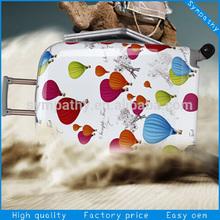new designer lightweight hard cover 20''&24'' girls travel luggage