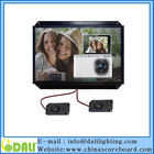 7 8 10 11.6 12 14 15.6 17 inch open frame POS stand alone advertising display
