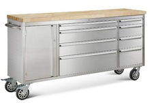 costco hot selling 72 tool chest with find wood top