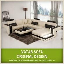 VATAR italy leather sofa custom made furniture H2211