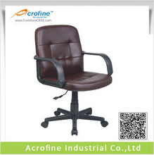 Acrofine brown leather office chair china mini executive chair