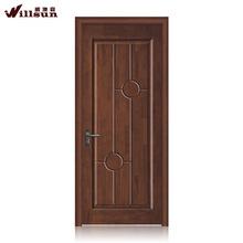 Black walnut wood door interior simple design wood doors